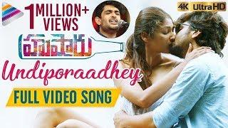 Undiporaadhey Full Video Song 4K | Husharu Latest Telugu Movie Songs | Sid Sriram | Telugu FilmNagar
