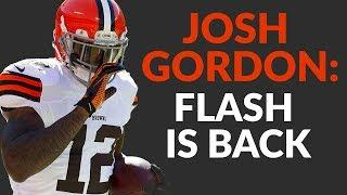 Josh Gordon Has Returned To Browns Camp But Is His Risk Worth The Reward In Fantasy Football