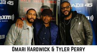 Omari Hardwick & Tyler Perry Talk Romantic Comedy 'Nobody's Fool' and Talk Keys to Wealth
