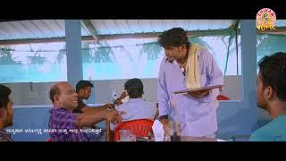 Aravind bolar bar comedy  Scene  Thottil   Aravind Bolar   Umesh Mijar