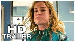 CAPTAIN MARVEL Final Trailer (NEW 2019) Brie Larson Superhero Movie HD
