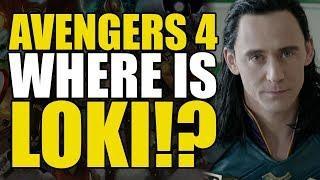 Avengers 4: Your Loki Theory