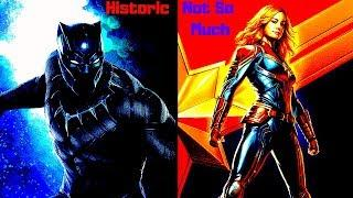 Captain Marvel is Not This Year's Black Panther: A SJW Fantasy Falls