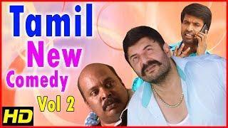 New Tamil Comedy Scenes 2018   Vol 2   Arvind Swamy   Soori   Singampuli   Bala Saravanan