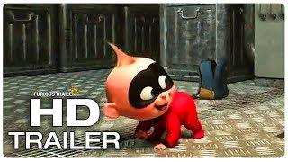 INCREDIBLES 2 Dash Vs Jack Jack Trailer (NEW 2018) Superhero Movie HD