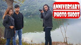 Anniversary Photo Shoot|Modern Love|Nepali Comedy Short Film|SNS Entertainment
