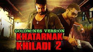 Khatarnak Khiladi 2 (Anjaan) 2018 Goldmines Version Full Hindi Dubbed Movie | Suriya, Samantha