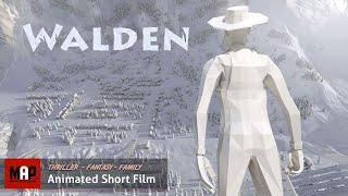 CGI 3D Animated Short Film ** WALDEN ** Family Fantasy Thriller Animated movie by UQAC NAD