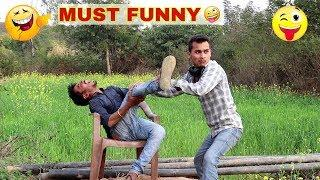 Must Watch New Funny???? ????Comedy Videos 2019 (Episode 04) Funny Videos || Kn films