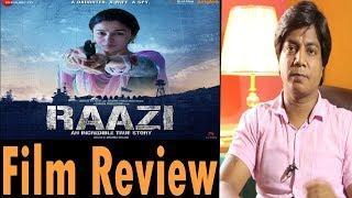 Full Movie Review | RAAZI | Alia Bhatt | Vicky Kaushal
