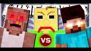 HEROBRINE vs BALDI vs GRANNY (Full Minecraft Short Film)