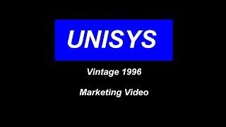 1996  Vintage UNISYS marketing film Computing in Society & Business -  History