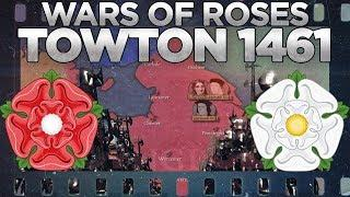 Battle of Towton (1461) - Wars of the Roses DOCUMENTARY