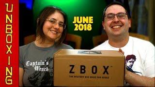 UNBOXING! ZBOX June 2018 - Fantasy & Fiction - Harry Potter, Hellboy