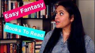 Fantasy Book Recommendations For Beginners | Easy Fantasy Books To Read | Books For Beginners