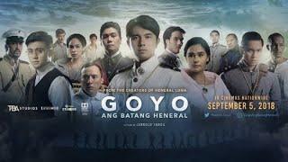 GOYO Ang Batang Heneral ( 2018) Paulo Avelino - HD COPY - full movie