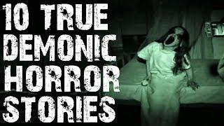 [GIVEAWAY] 10 TRUE Absolutely Horrifying Demonic Possession Stories! | (Scary Stories)