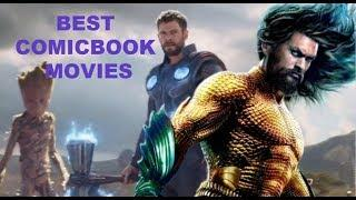 ALL BEST COMIC BOOK MOVIES RANKED 2018! TOP 7 SUPERHERO MOVIES OF 2018 WORST TO BEST!