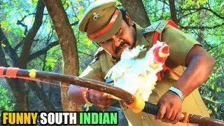 FUNNY SOUTH INDIAN HINDI MOVIES SCENES || TOLLYWOOD COMEDY SCENES HINDI || SAMRAT BHAI ||