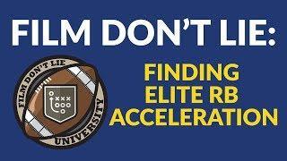FDLU: Elite Running Back Acceleration - Ezekiel Elliott, Alvin Kamara, and Dion Lewis