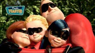 THE INCREDIBLES - MOVIE REVIEW HIGHLIGHT - Double Toasted