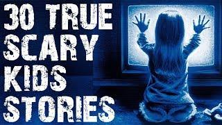 30 TRUE Creepiest Things Kids Have Said | (Scary Stories)