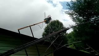 Antenna Tower Build Part 2: The Scary Part.