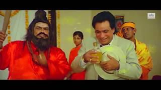 Kader khan and Baba comedy Scene || Hamara Pariwar Bollywood Action Hindi Movie