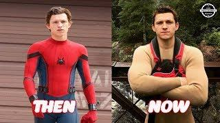 Spider Man Homecoming Cast Then and Now