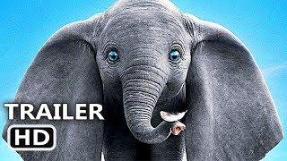 DUMBO New Trailer (2019) Disney, Tim Burton Movie HD