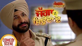Jagga Jiunda E | Comedy Scene | Daljeet Kalsi, Kainaat Arora | Latest Punjabi Movies 2018