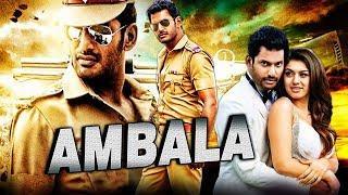 Ambala (Aambala) Hindi Dubbed Full Movie | Vishal, Hansika Motwani