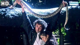 Best Of Bobby Deol scenes from Barsaat (1995) Twinkle Khanna - Raj Babbar - Bollywood Romantic Movie