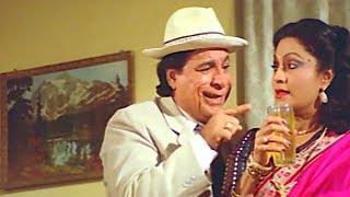 Kader khan and Bindu Comedy Scene from Hamara Pariwar || Bollywood Action Hindi Movie