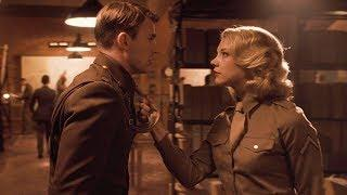 Steve Rogers First Kiss Scene - Marvel's Captain America: The First Avenger (2011) HD