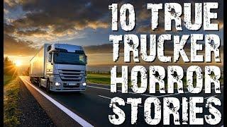 10 TRUE Terrifying Trucker & Truck Stop Horror Stories | (Scary Stories)