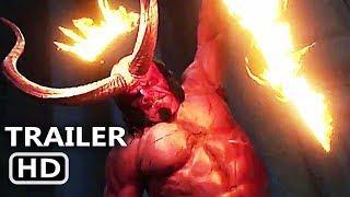 HELLBOY Trailer # 2 TEASER (NEW 2019) David Harbour, Sci-Fi Movie HD