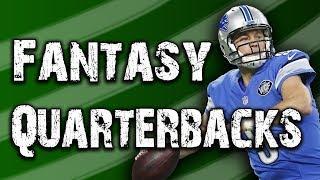 The Best Fantasy Quarterbacks for 2018