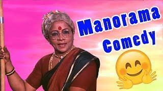 Manorama Tamil Comedy Scenes | Pandiarajan | S S Chandran | Visu | Tamil Comedy Collection