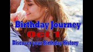 Birthday Journey October 1 New