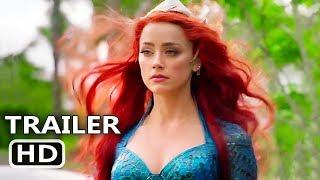 "AQUAMAN ""Amazing Worlds"" Trailer (NEW 2018) Amber Heard, Jason Momoa Movie HD"