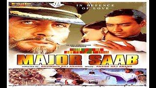 Major Saab (1998) | Full HD Action Movie | Amitabh Bachchan, Ajay Devgn & Sonali Bendre
