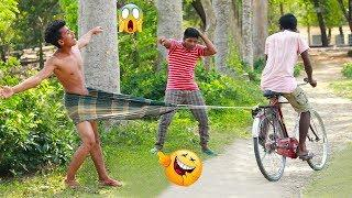 Must Watch Best Funny????????Comedy Videos 2019 - Ep-57_Try not to laugh #FunBoxBD
