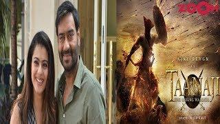 Ajay Feels Kajol Is Perfect For The Role In The Historical Drama 'Taanaji The Unsung Warrior'