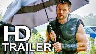 AVENGERS INFINITY WAR All Deleted Scenes & Gag Reel Bloopers + Trailer (2018) Superhero Movie HD