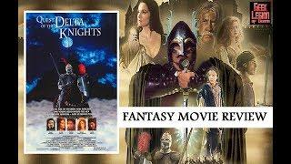 QUEST OF THE DELTA KNIGHTS ( 1993 David Warner ) Fantasy Movie Review
