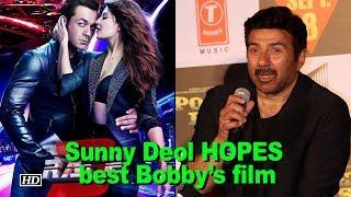 "Sunny Deol HOPES Bobby's ""Race 3"" blessed with historical success"