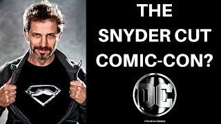 DC RELEASING THE ZACK SNYDER CUT?