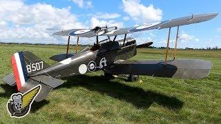 Intro To The Royal Aircraft Factory SE.5a Biplane Fighter
