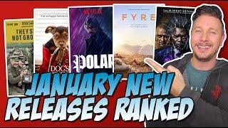 Every January 2019 Movie I Saw Ranked!